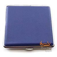 Портсигар синій(10х8,5х2 см)