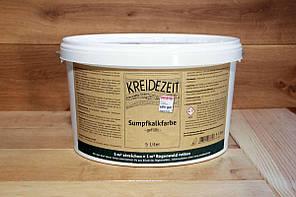 Натуральная  известковая краска Kreidezeit  Sumpfkalkfarbe  5 l