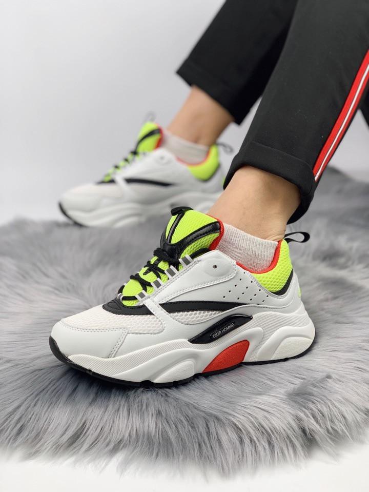 df8b9cd04 Женские Кроссовки Dior Homme Sneakers WGB (Реплика Люкс) - Магазин  брендовой одежды и обуви