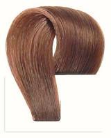 Набор натуральных волос на клипсах 38 см. Оттенок №6. Масса: 100 грамм.