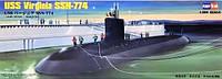 1:350 Сборная модель подводной лодки USS Virginia SSN-774, Hobby Boss 83513