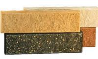 Кирпич облицовочный ЛИТОС тонкий колотый (плитка)