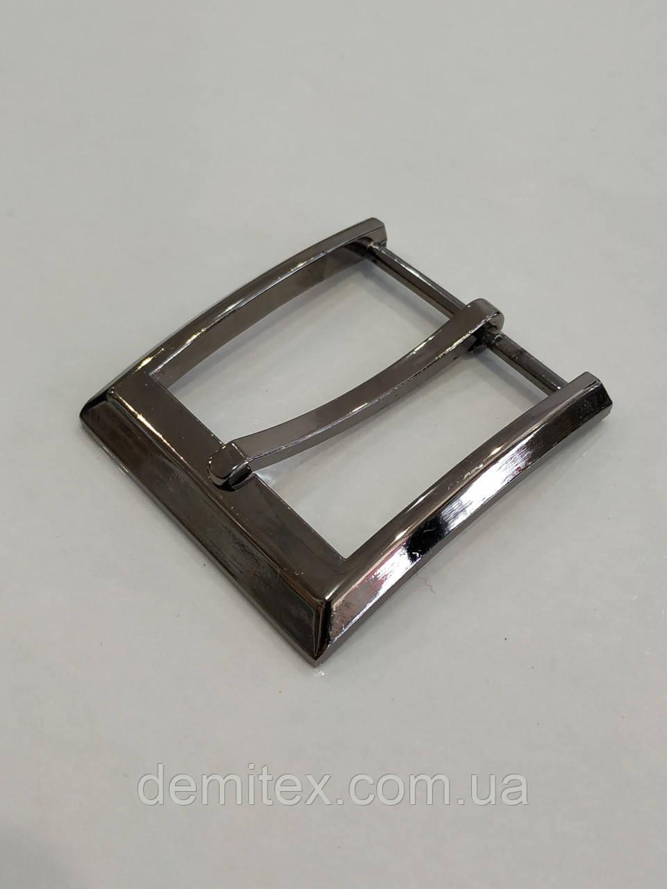Ременная пряжка 40 мм черный никель
