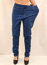 Джинсы женские в больших размерах 6XL - 9XL Джеггинсы Kenalin - батал, фото 3