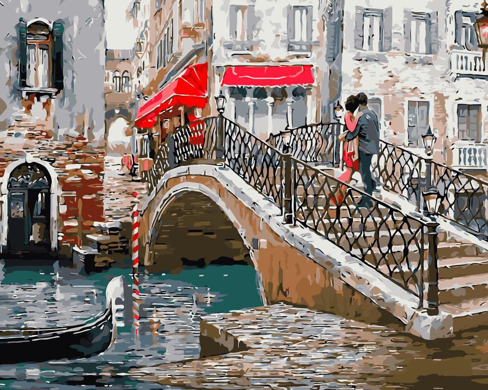Картина по номерам Мост влюбленных 40 х 50 см (BK-GX8363)