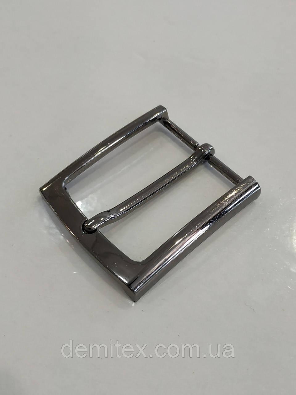 Ременная пряжка 35 мм черный никель