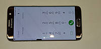 Дисплейный модуль б/у Samsung Galaxy S7 EDGE G935FD silver GH97-18533B оригинал Amoled