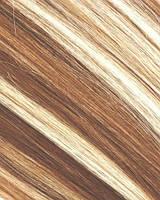 Набор натуральных волос на клипсах 70. Оттенок №6-613. Масса: 150 грамм.