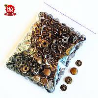 Кнопки для одежды Альфа 12.5мм. Кнопка рубашечная №54, Антик (100шт)