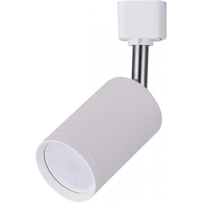 Трековый светильник Feron AL155 белый под лампу MR16