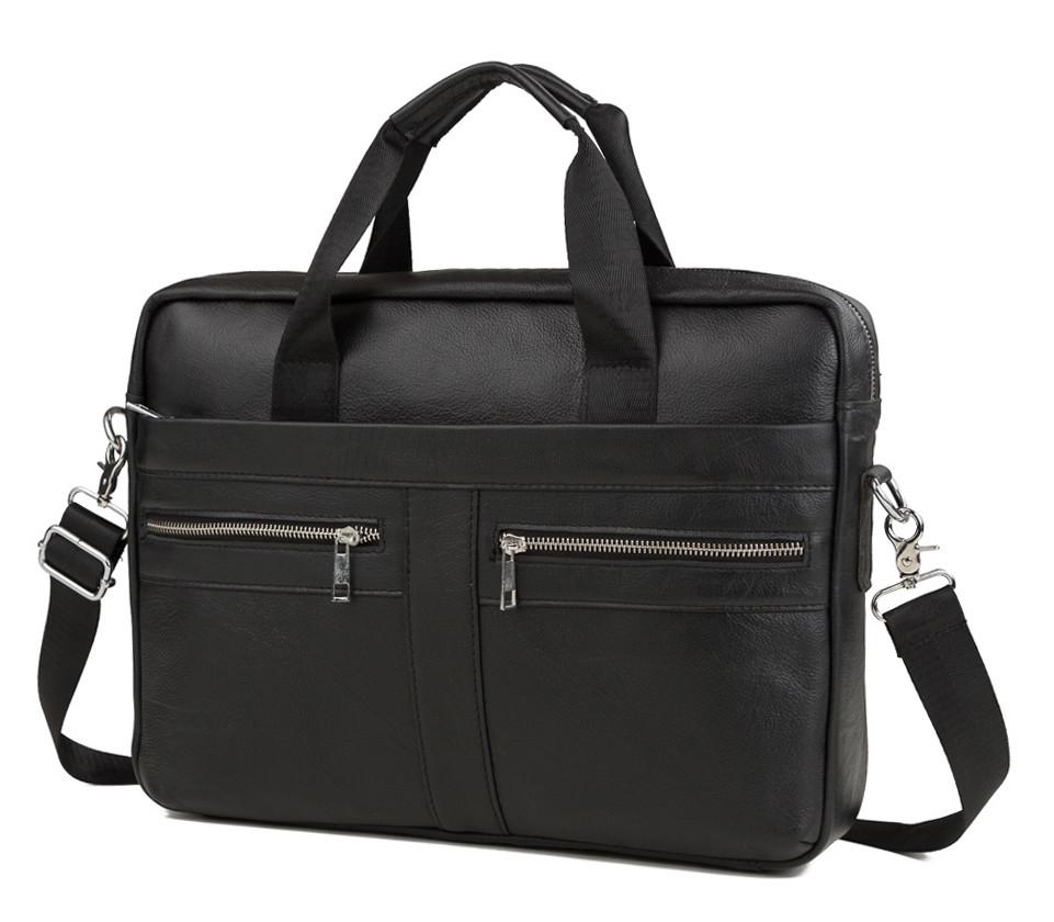 d6b96760ef19 Стильная презентабельная мужская повседневная деловая сумка недорого  натуральная кожа
