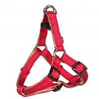 Шлея Trixie Softline Elegance One Touch Harness для собак нейлоновая, 40-50 см красный