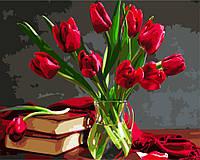 Картина по номерам Букет тюльпанов 40 х 50 см (BRM8115)