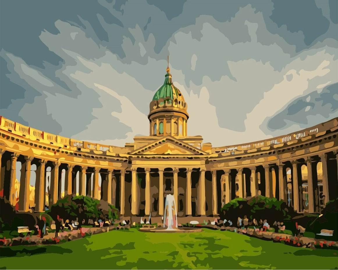 Картина по номерам Казанский собор 40 х 50 см (BRM8120)