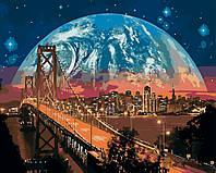 Картина по номерам Сан-Франциско 40 х 50 см (BRM8312)