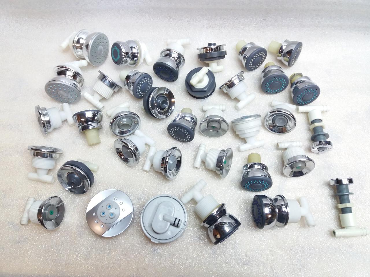 Гидромассажные форсунки для душевой кабины, бокса запчасти детали и комплектующие