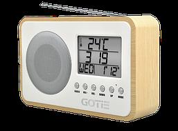 Радио с будильником Gotie GRA-100S