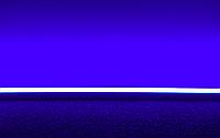Светодиодная лампа 8вт 60см Т8 синяя, одностороннее подключение, фото 1