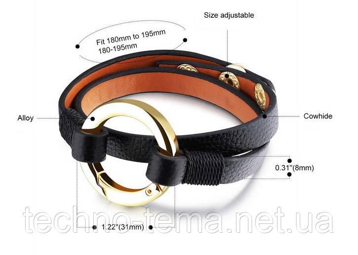 Женский кожаный браслет Jiayiqi 1121