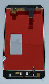 Экран + сенсор (модуль) для для ZTE Blade A6, A6 Lite, A0622 чёрный