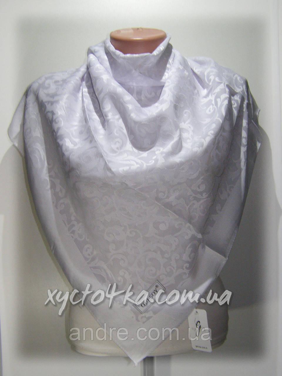 Шелковый платок Афродита белый