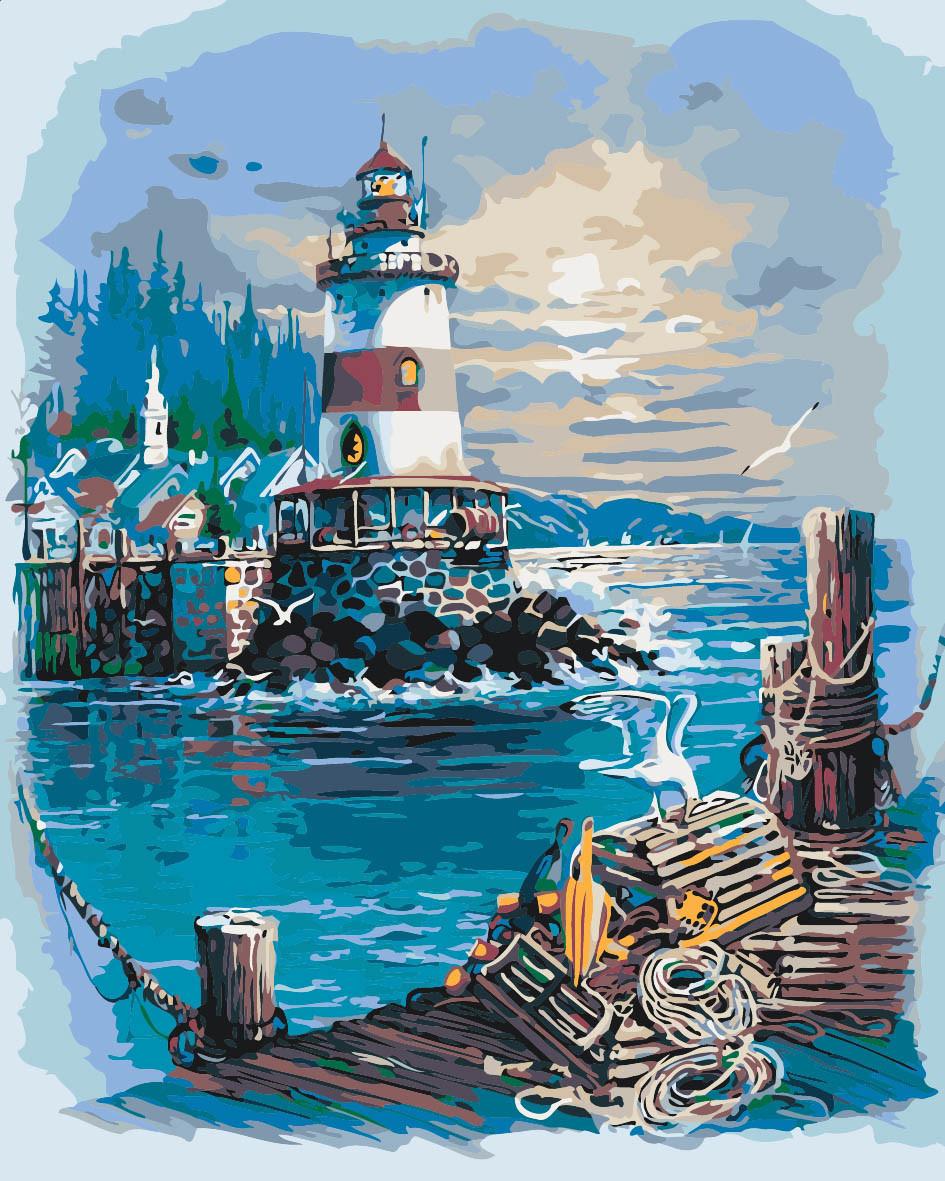 Картина по номерам Тихая гавань 40 х 50 см (KH2724)