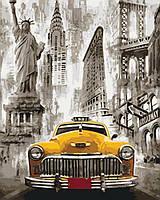 Картина по номерам Нью-Йоркское такси 40 х 50 см (KH3506)