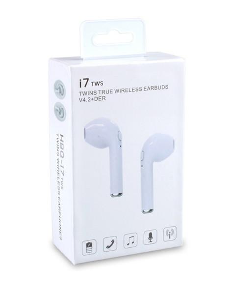 Беспроводные наушники Bluetooth i7 Tws без кейса
