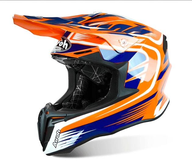 Шлем кроссовый Airoh Twist Offroad (Orange)