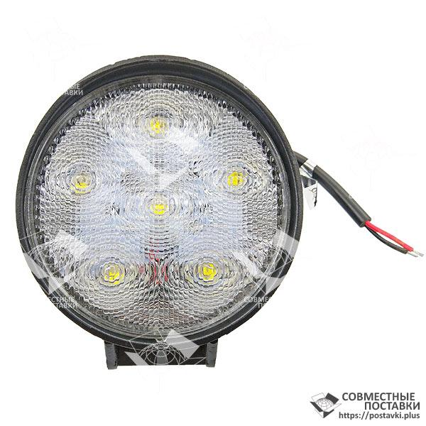 18W / 60 (6 x 3W /широкий луч, круглый корпус) 1260 LM LED Фара рабочая L2205 (JFD-1032) (Польша) 18 Ватт, фото 1