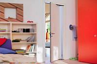 Комплект фурнитуры Ergon Living T. E., LA (ширина дверей) = 96,5 см цвет: черный, штанга HP = 220 см, набор щеток H8, 4 шт. по 260 см, и замок