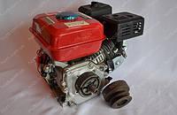 Двигатель бензиновый DDE 170FB 7.5 л.с вал 19-20 мм под шпонку с центробежным сцеплением