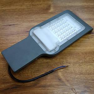 Уличный LED светильник 30Вт 6400К IP65 2700Лм серия ECO