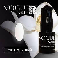 Гель лак Ультра белый коллекция Классика Vogue Nails 10 мл