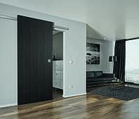 Комплект фурнитуры Design 80 V для 1 дверного полотна до 80 кг с 2-сторонним демпфером
