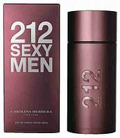 Туалетная вода Carolina Herrera 212 Sexy Men (магнитная крышка) (edt 100ml) реплика