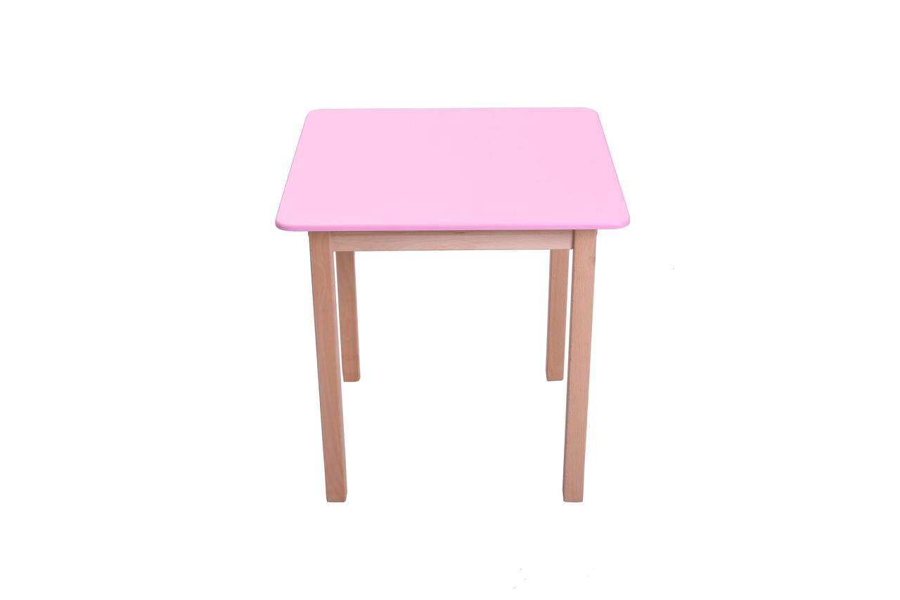Столик Бук 3 розовый