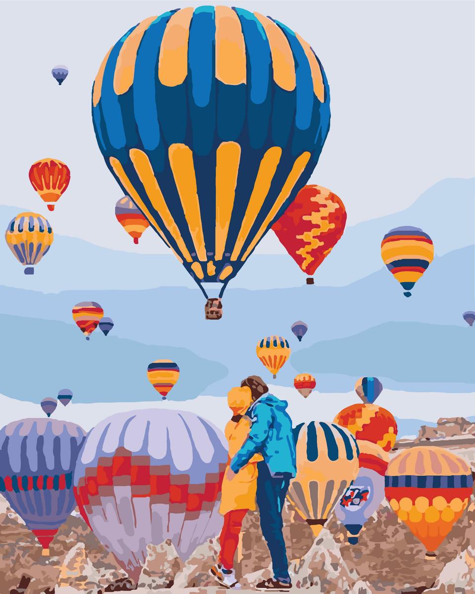Картина по номерам Воздушные мечты 40 х 50 см (KHO4503)