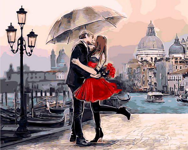 Картина по номерам Идеальное свидание 40 х 50 см (MR-Q1435)