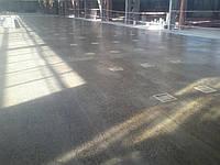 Шлифованный бетонный пол