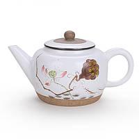 Заварочный чайник керамический Лотос, фото 1