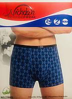 Труси чоловічі боксери бавовна + бамбук Nickdan розмір L-3XL(46-56) 7788