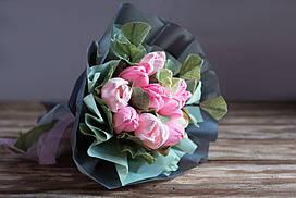 """Букет из конфет и цветов """"Крокусы"""" - поможет поднять настроение и выразить свои чувства"""