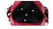 Рюкзак женский кожзам городской Casual красный, фото 9
