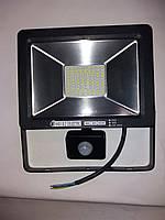 Прожектор 30W LED + датчик руху 6400K IP65, фото 1