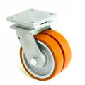 Сдвоеное великоваговий колесо з поліуритану 4602-DSTR-200-B