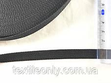 Лента ременная Мерам черная 10 мм, фото 2
