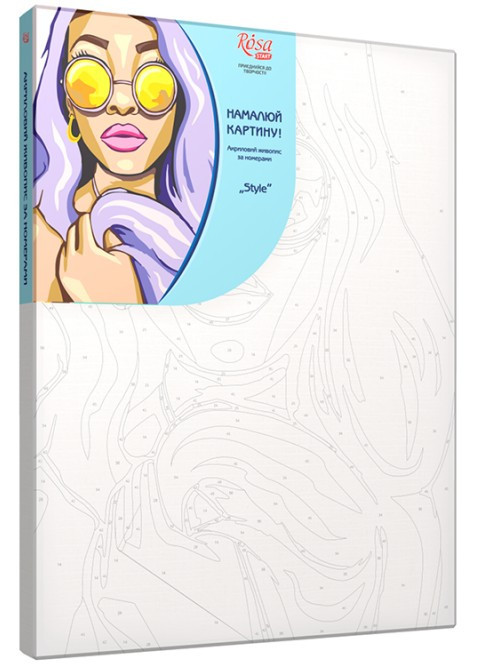 Картина по номерам Style (Стиль) 35 х 45 см (RS-N0001355)
