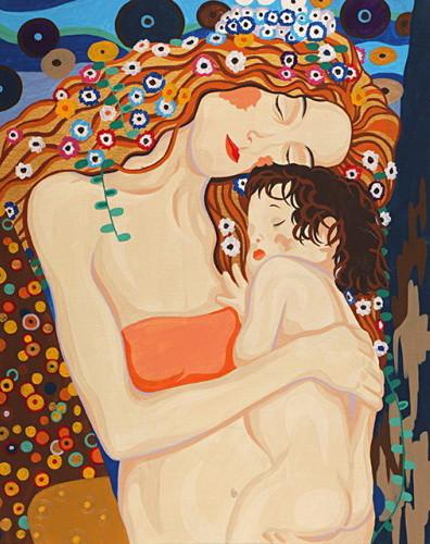 Картина по номерам Любовь матери 35 х 45 см (RS-N000137)