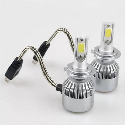 """Светодиодная лампа H7 40 Вт """"С6"""" (цена указана за 1 штуку 20 Вт) 3500LM 6500K LED HEADLIGHT, фото 2"""